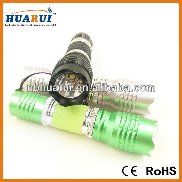 Cree flashlight , Cree aluminum flashlight ,China Cree aluminum flashlight Manufacturer & Supplier(HUA RUI)