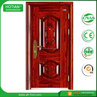 China product new style security door cheap exterior fire rated used commercial steel doors