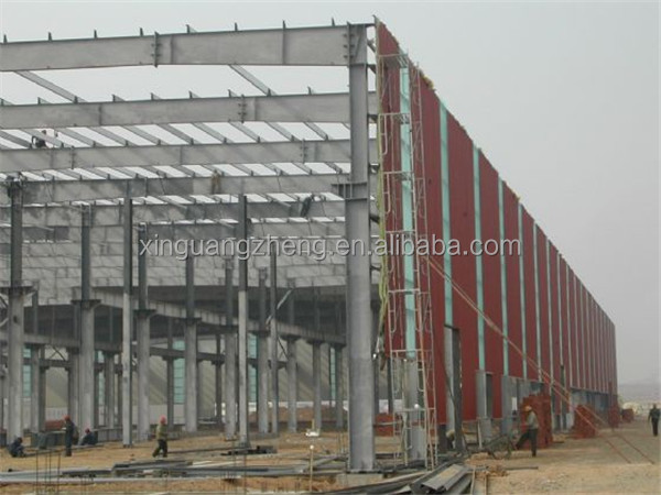 design steel structure type of industrial shed