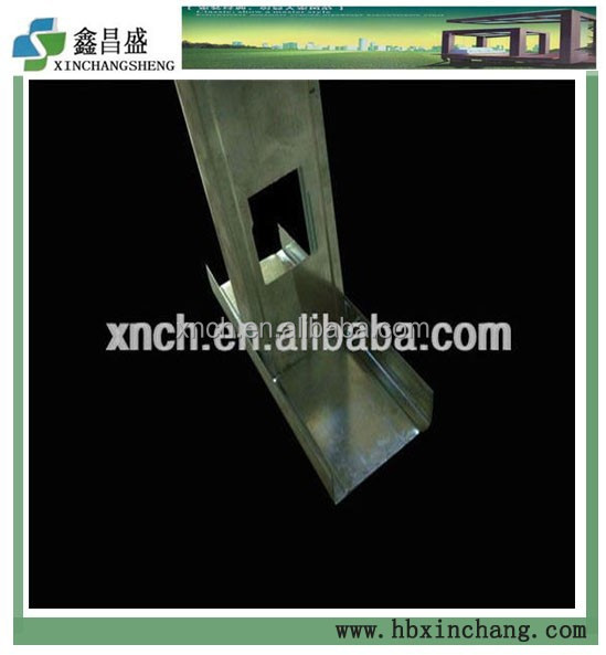 Metal Stud and Track For Drywall Partition