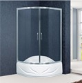 Fan-shape Sliding Shower Enclosure With Top Shower Tray(KT6010)