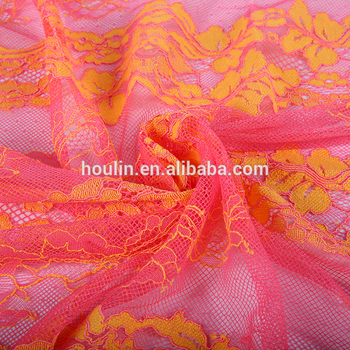 10 years experience variety sample different flower sheer fabric names for fashionable dress home textiles in stock