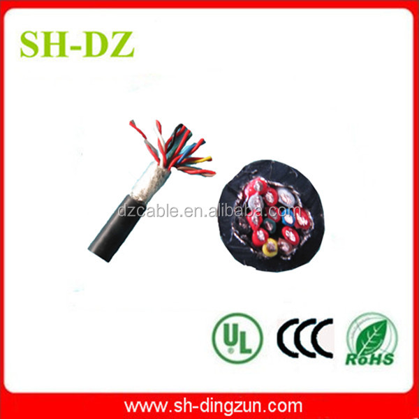200 degree silicone coated multi core silicone cable