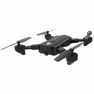 New Optical Follow Me Drone with Camera Selfie HD WiFi FPV Quadcopter Foldable RC Drone Helicopter
