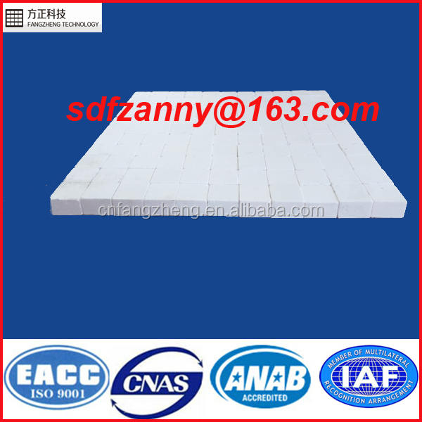 Wear production alumina square tiles for mining equipment liner