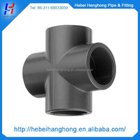 Hot sale top quality best price Plastic injection cross joint pipe fitting