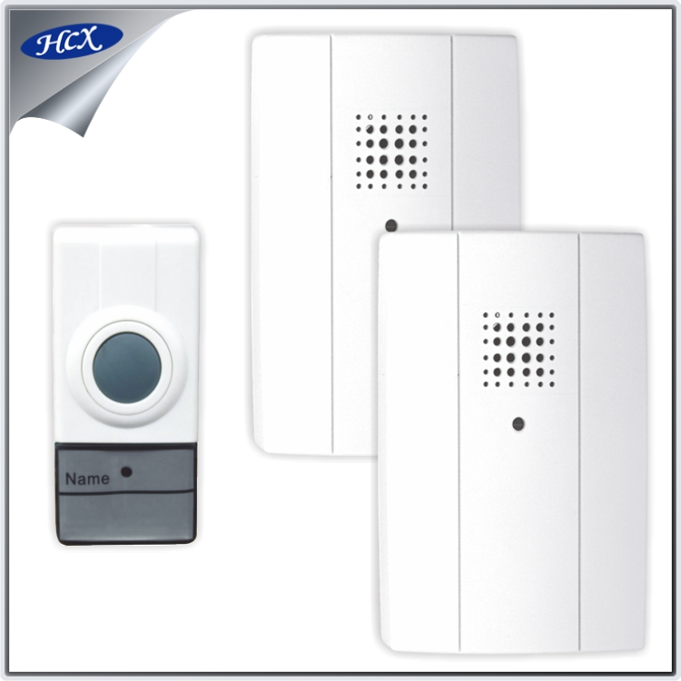 RL-2R3969 Two to one doorbell 19863 pairs digital code wireless door bell chime