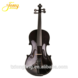 Tongling Music Colored Student Black Universal Violin Made in China TL001-Black