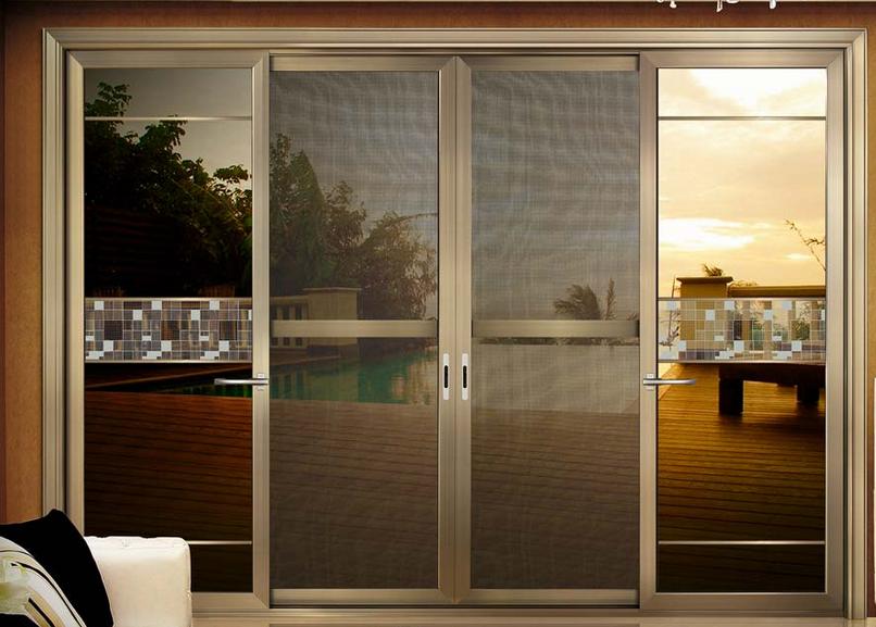 Puertas corredizas de vidrio puerta corredera de cristal for Puertas vidrio templado corredizas