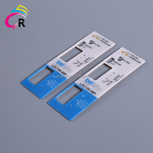 PVC silk screen print heat resistant pvc remote control equipment panel sticker stickers die cut