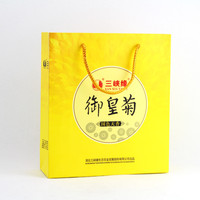 Promotional cheap price yellow shopping bag