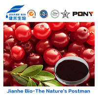 Low moisture and heavy metal 100% Natural Fruit Cranberry Extract 5:1,10:1