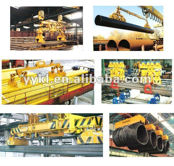 MW42 series lifting electromagnet and handling equipment handling steel plate ,steel bar and billets