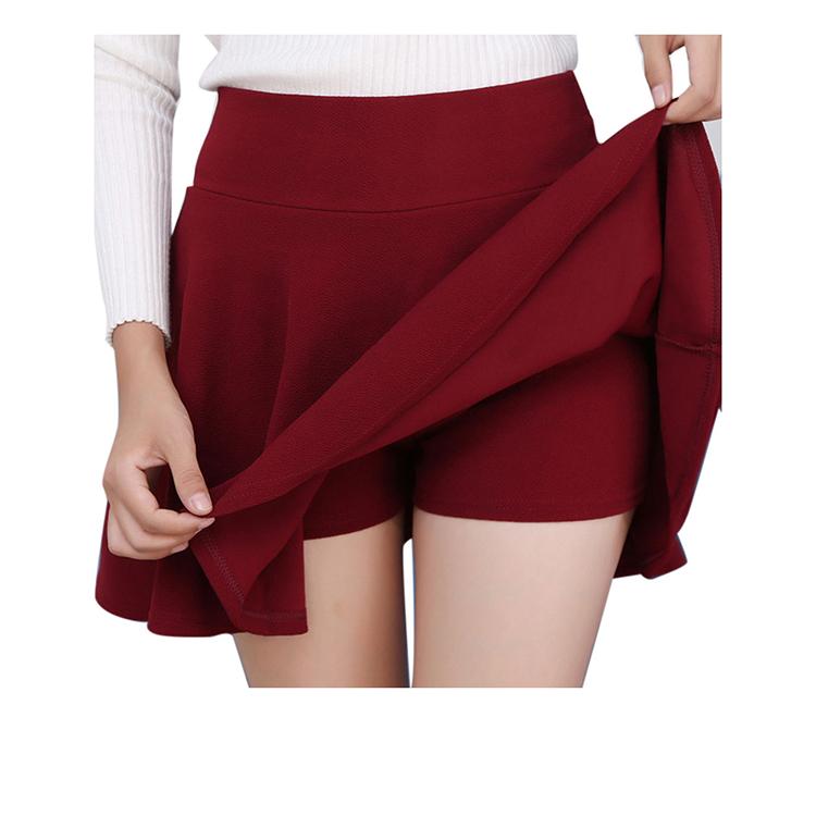 5dff06f31b Caliente nueva de la escuela chica verano Faldas Sexy Mini Faldas para las  mujeres Slim de