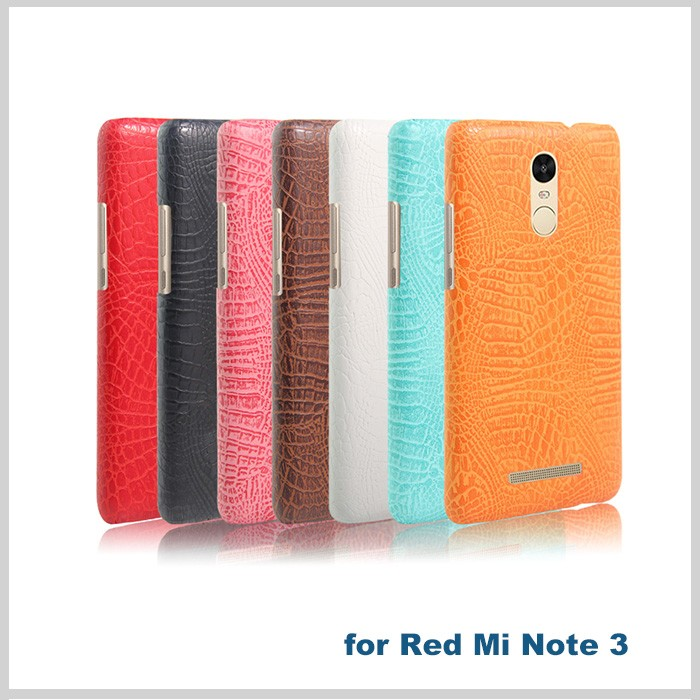 Hight quality soft pu leather case for xiaomi redmi note3 back cover