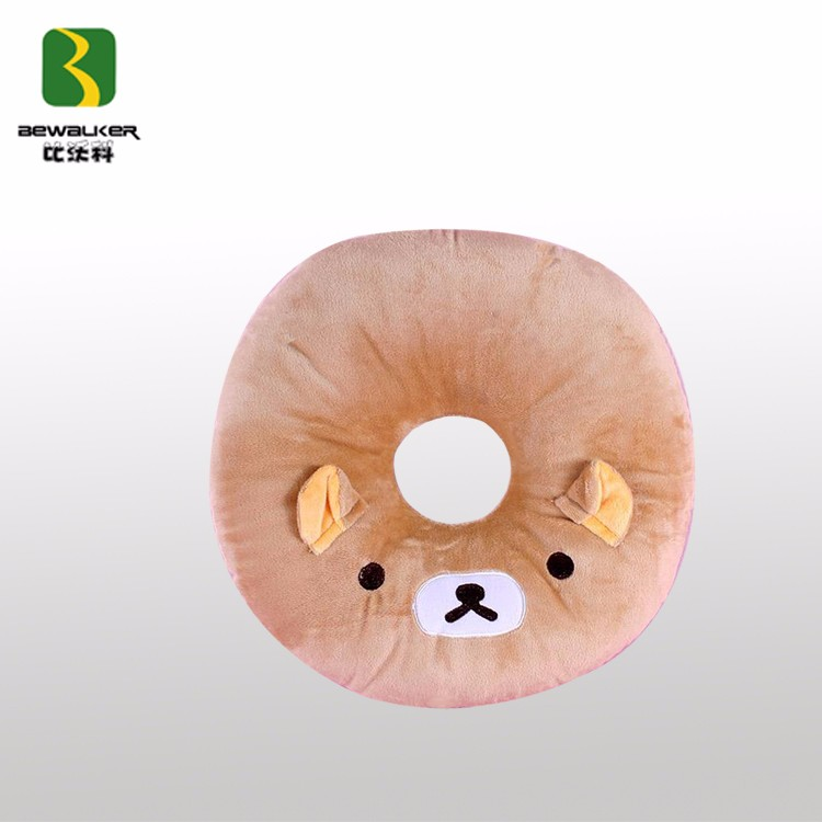 Animal Shape Soft Nap Pillow With Hole