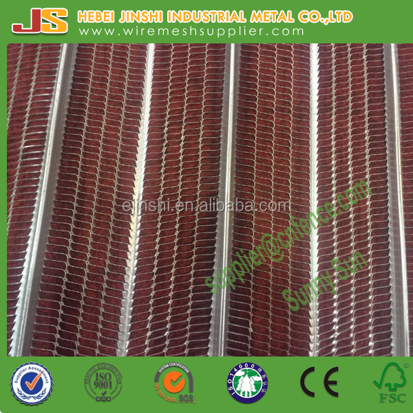 600mmx2200mm rib lath/construction material/expanded metal mesh
