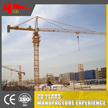 Maximum Height 120 M wide range of adaptability moving tower crane price
