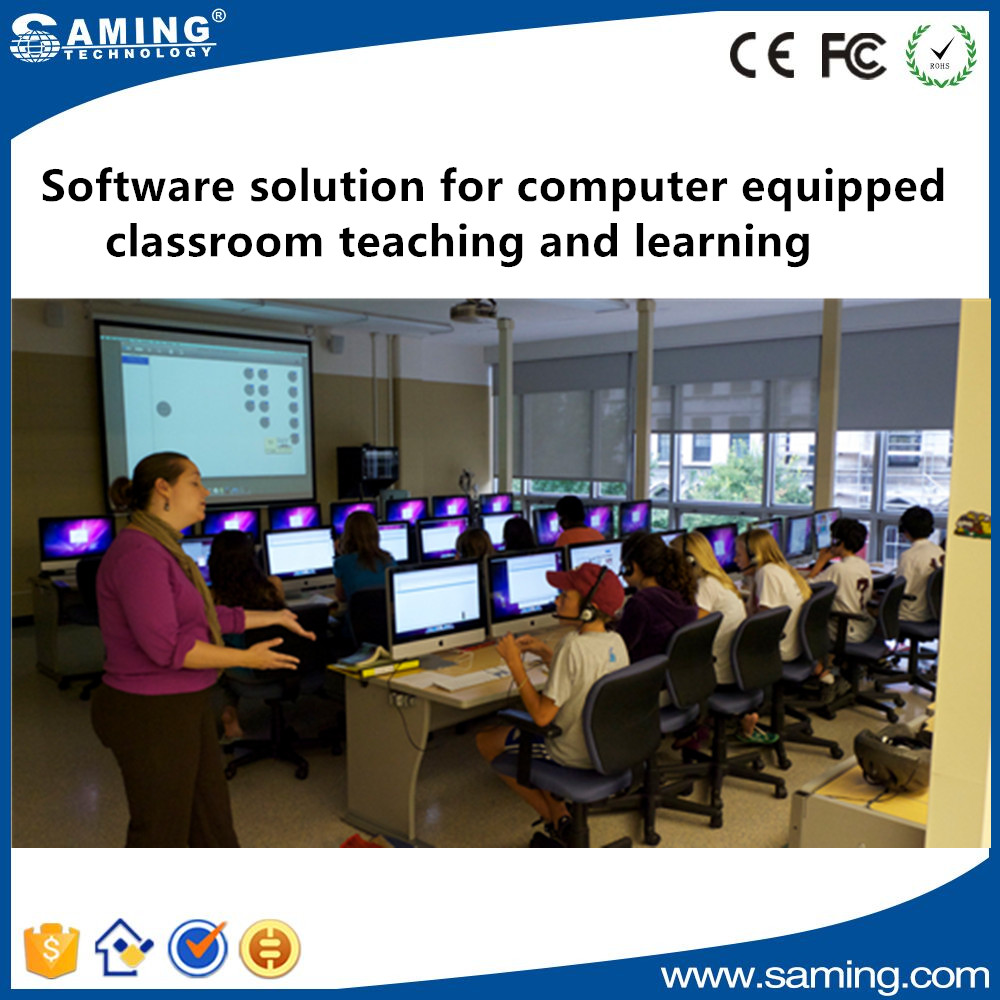 Language lab Software solution for computer equipped educational institute teaching