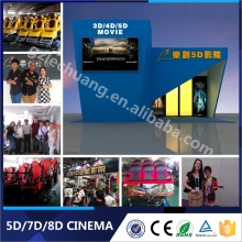 Long Lift Time 5D Cinema Simulator 5D Cinema Movies System