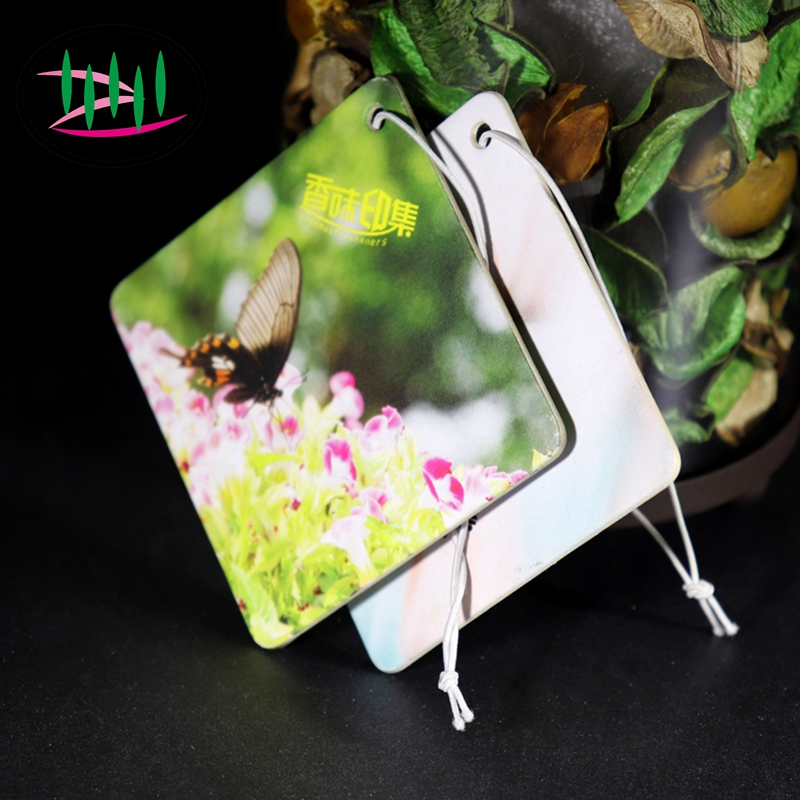 Customized Design Hanging Air Freshner/Custom Paper Car Air Freshener