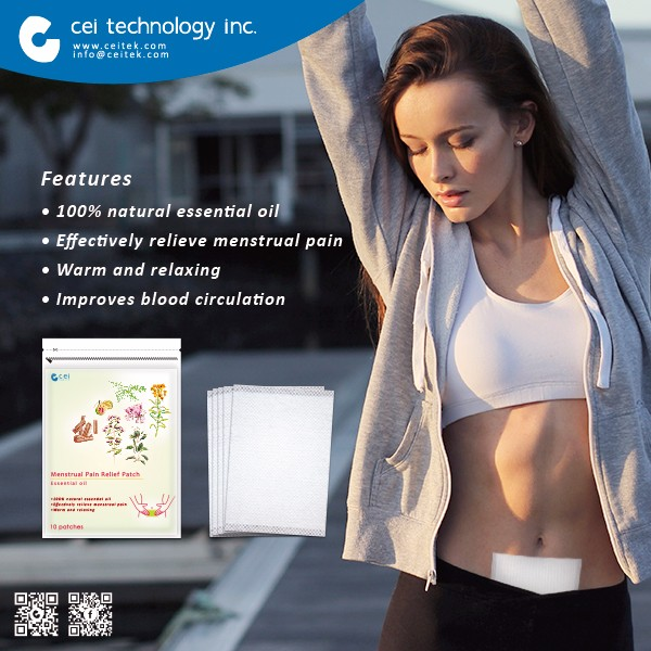 Best Wholeslae Mentrual cramp pain relief Pad patch for women