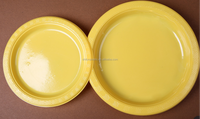 7''/9''/10'' disposable plastic plate for restuarant /plastic plates for weddings