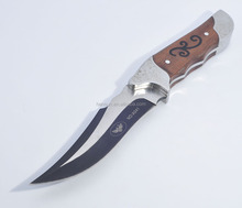 Exquisite stainless steel Straight Saber Fixed Blade Knife