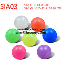 Pink Bouncing Rubber Ball