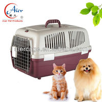 factory supply plastic carry dog cage