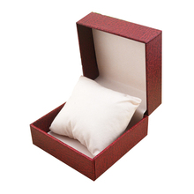 Fashion Paper Boutique Gift Watch Packaging Box With Pillow