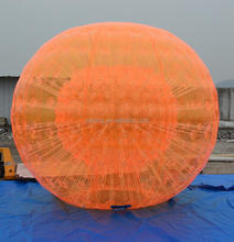 Orange inflatable hamster zorb ball for kids