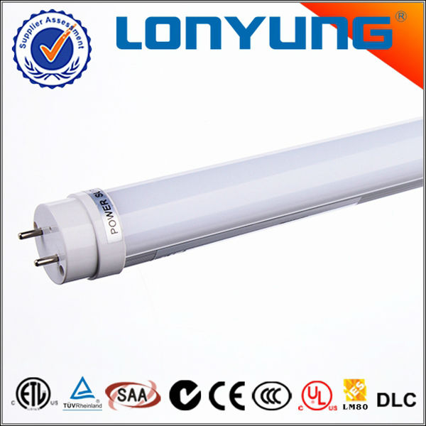 12v dc fluorescent t8 fluorescent tube lighting for office ETL DLC TUV SAA C-Tick CE RoHS approved 3 years warranty
