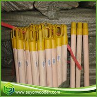 China Wood Broom Stick Cover Pvc cap cover
