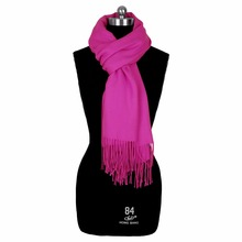 Fashion Colorful Cheap Fake Cashmere Winter Thick Polyester Viscose Warm Scarf for Women
