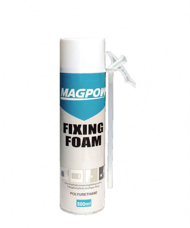 Uv Resistant Door Fixing Pu Pouring Foam Sealant