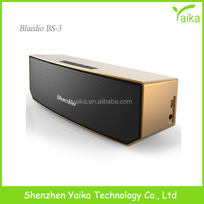 2017 factory price bluedio BS-3 portable mini bluetooth <strong>speaker</strong>