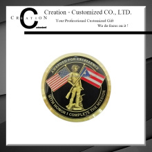USA England British Mission Complete Award Coin Epoxy Covering Military Coin With 3D Effect Fighter Army Challenge Coins