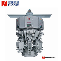 Automatic rotary cement powder packing machine for valve bag