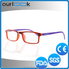 2015 Wholesale Fashion Colorful Anti Blue Ray TR90 Glass Frame