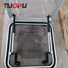 Marine hardware boats roof hatch window,aluminum opening roof hatch