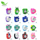 Cheap wholesale promotional Lovely Top Boys Girls Fashion Animal Silicone Slap Snap WristWatch kids silicone cartoon slap watch