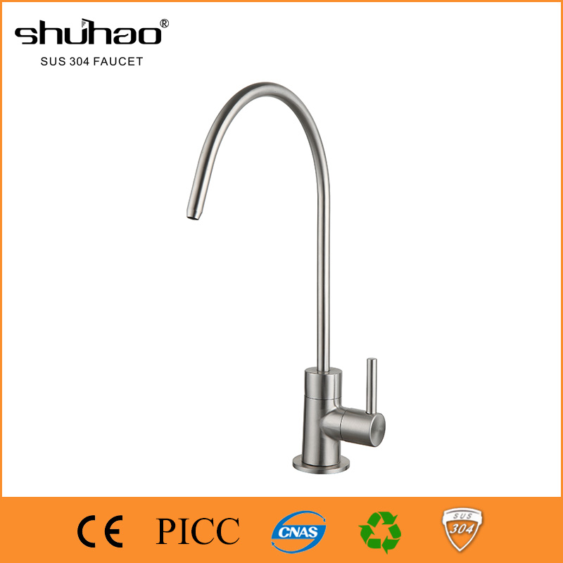304 Stainless Steel faucet SUS304 direct drinking water tap SHG178-04