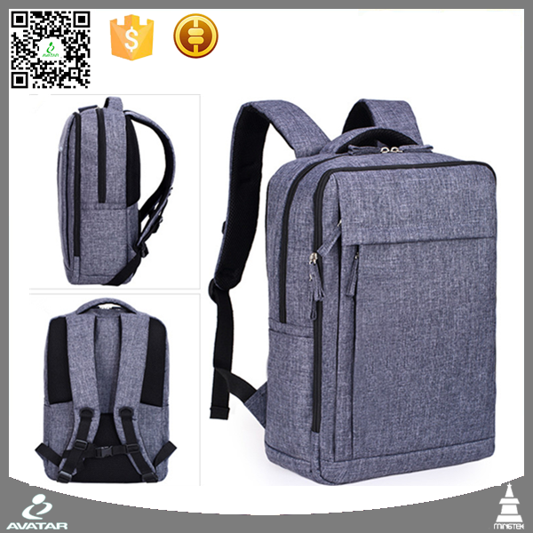 Custom wholesale waterproof polyester ibm laptop backpack bag