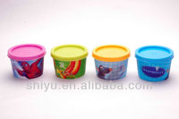 Plastic Ice Cream Cup with Lids
