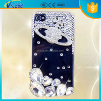 2015 hot selling Factory Popular fine quality stone bling case for iphone 4
