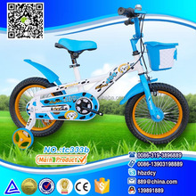 factory whosale blue bikes,blue children bicycle with basket ans car box