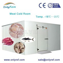 Fish Processing Cold Storage Room For Shrimp Chicken Store