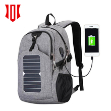 2018 Trending Products Wholesale Anti Theft Solar Charger Backpack School Backpack Bag With USB Port