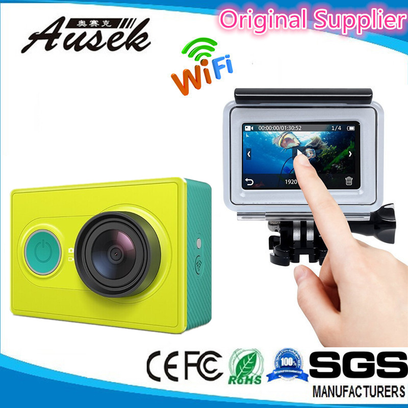 New fashion Xiaomi Yi 4K action camera Bluetooth WIFI Mini Xiaomi Sports Camera